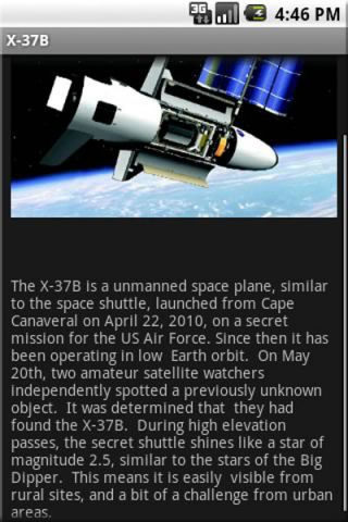 See the Secretive X-37B Space Plane in Orbit with Phone App