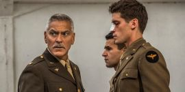 George Clooney And Hugh Laurie Don't Look Happy In First Look At Hulu's Catch-22