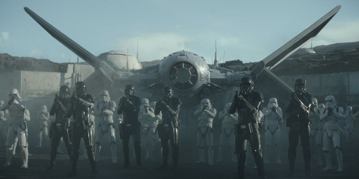 Stormtrooper Army in The Mandalorian