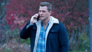 titans season 3 alan ritchson hank talking on phone hbo max