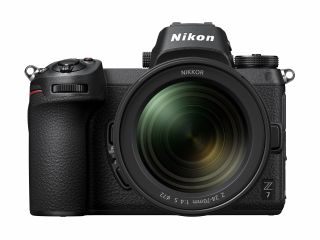 Front view of the Nikon Z7