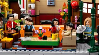 The Lego Friends Central Perk set is now available to buy, and it's AMAZING