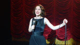Rachel Brosnahan in Amazon Prime Video's Marvelous Mrs. Maisel