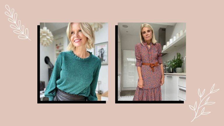 Wyse London clothes being modelled on two women