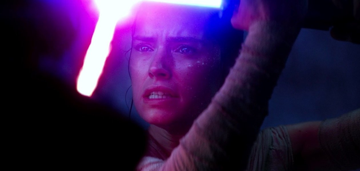 Rey in The Force Awakens