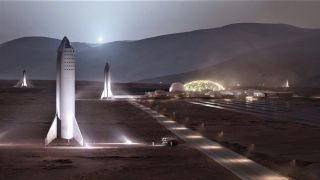 SpaceX's Mars Base Alpha
