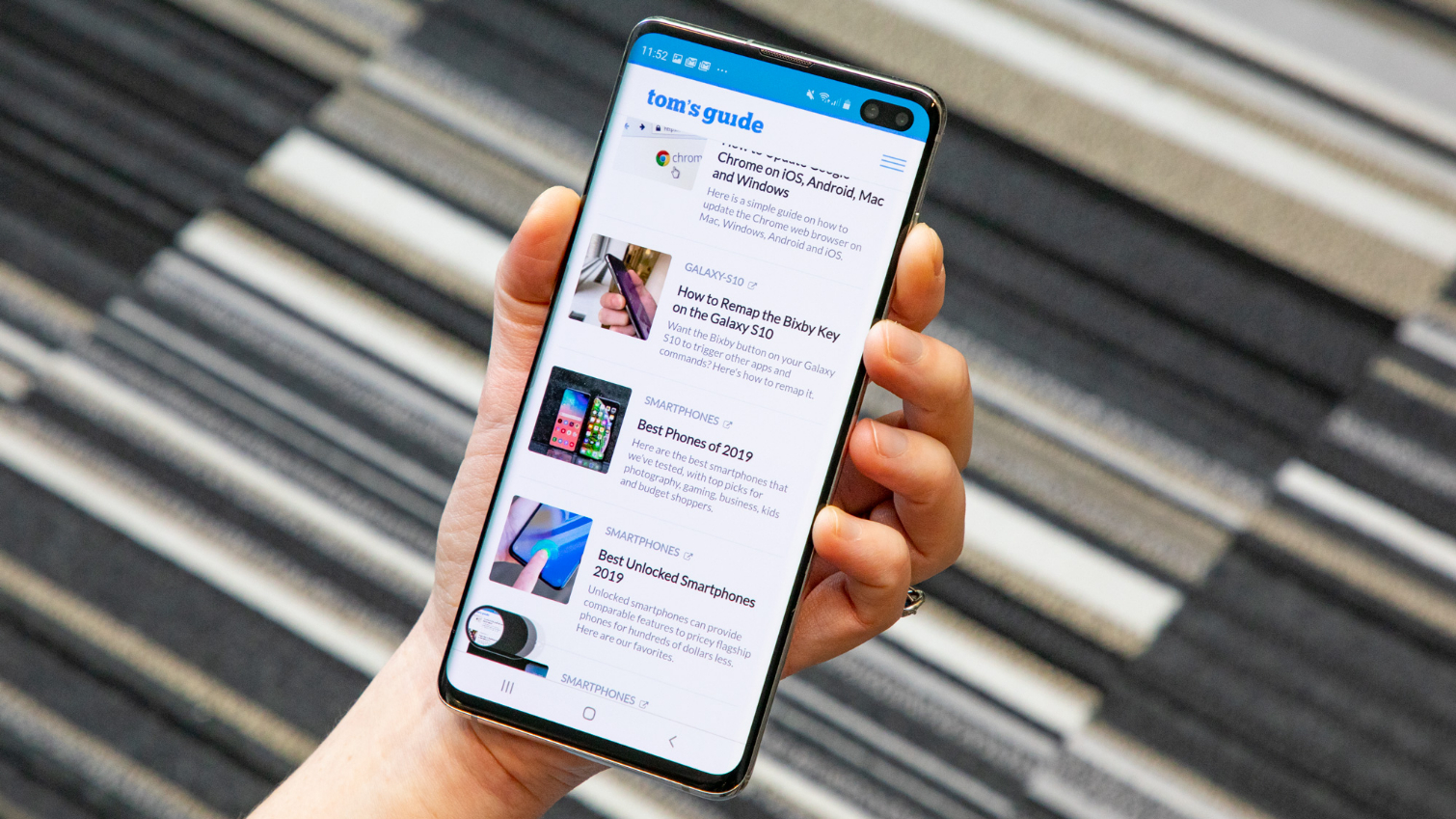 How to Capture a Screenshot on the Galaxy S10 | Tom's Guide