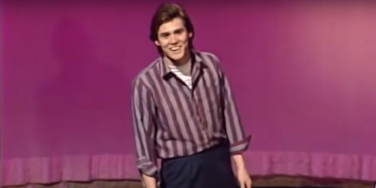 Jim Carrey during his Saturday Night Live audition