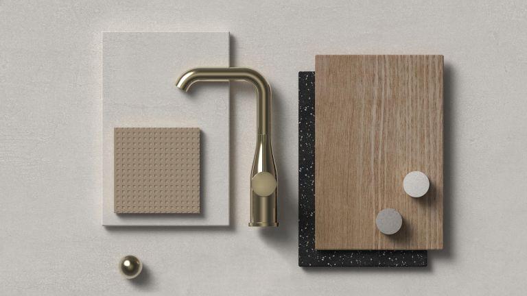 bathroom mood board by grohe