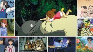 Studio Ghiblin elokuvia