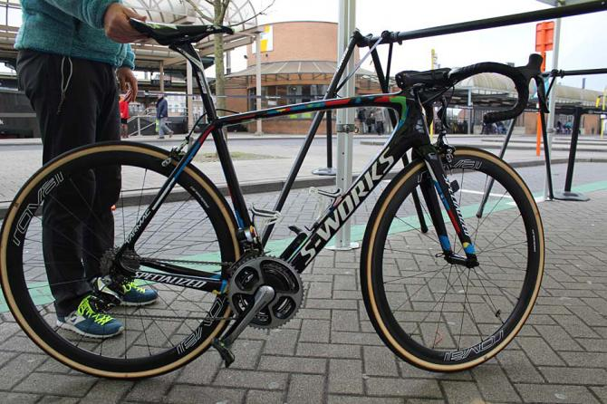 World champion Peter Sagan's Specialized S-Works Tarmac