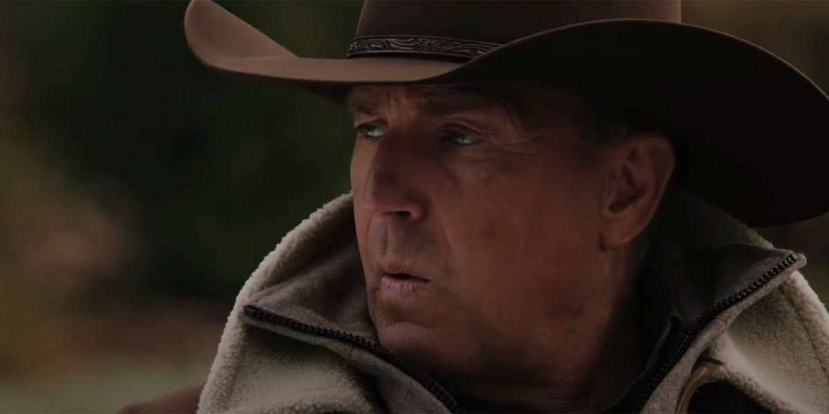 John Dutton in Yellowstone season 3 played by Kevin Costner.