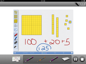 Class Tech Tips App Combo: Number Pieces and ScreenChomp