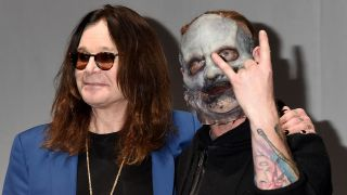 Ozzy Osbourne and Corey Taylor