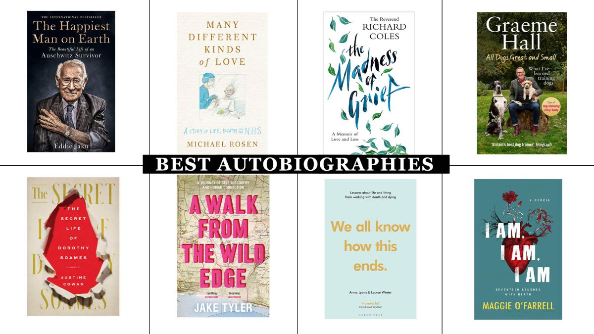 The best autobiographies that will give you an insight into the lives of fascinating people