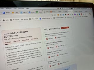 Google coronavirus website