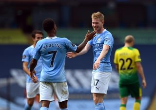 Manchester City v Norwich City – Premier League – Etihad Stadium