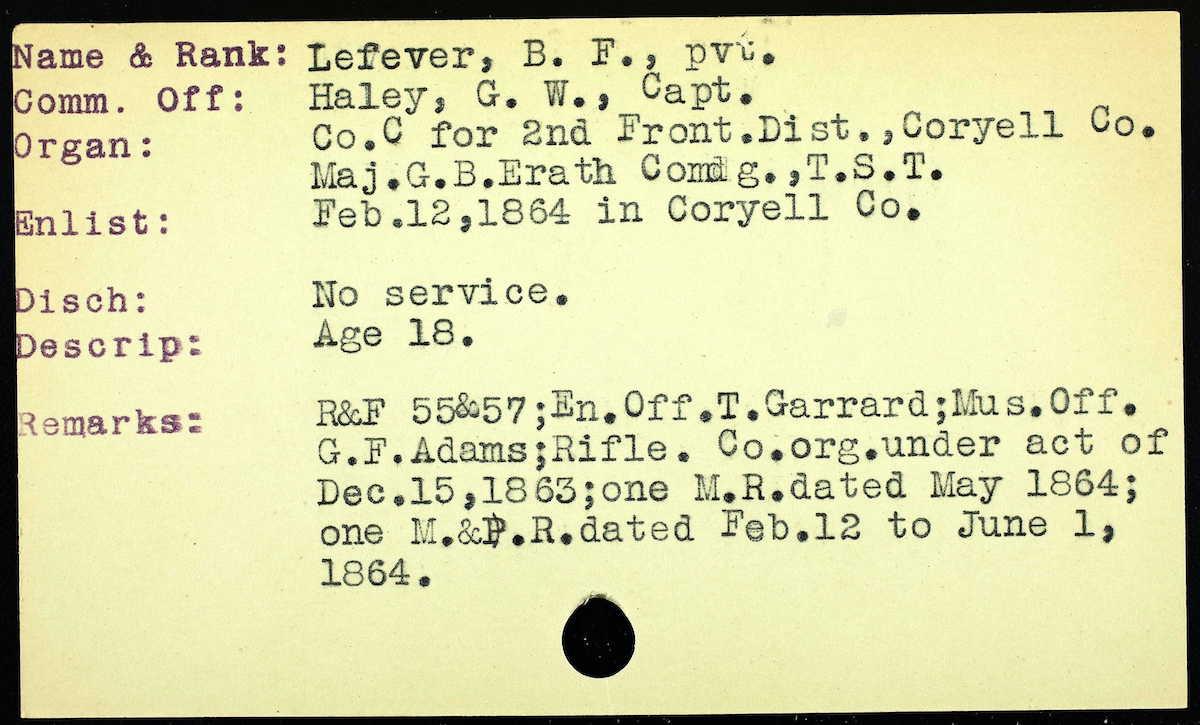 jared padalecki's great-great-great-grandfather texas ranger