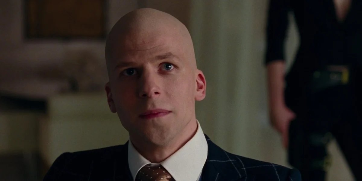 Jesse Eisenberg as Lex Luthor in Justice League