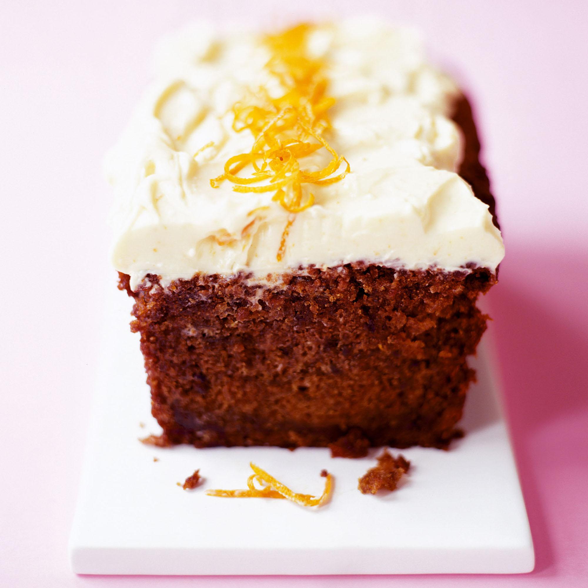 Beetroot Cake With Orange Frosting Dessert Recipes