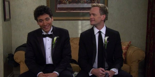 How i met your mother ted mosby barney stinson