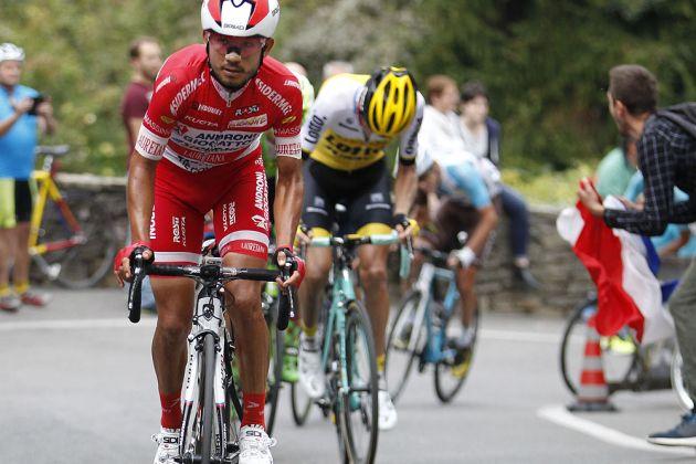 Thumbnail Credit (cyclingweekly.co.uk) (Photo: Yuzuru Sunada): Rodolfo Torres of the Androni team Credit: Yuzuru Sunada