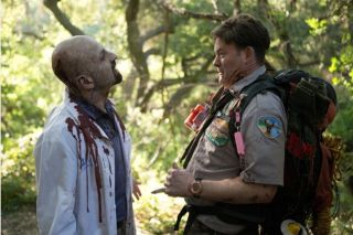 "Still of David Koechner in ""Scouts Guide to the Zombie Apocalypse."""