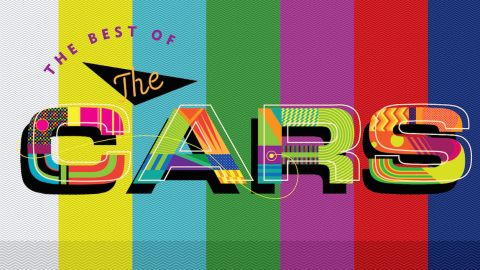 The Cars Moving In Stereo: The Best Of The Cars album cover