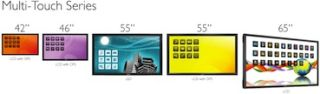 MMD Introduces Interactive Philips Touch Displays
