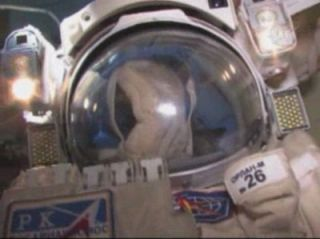 Space Station Astronauts Set for Spacewalk
