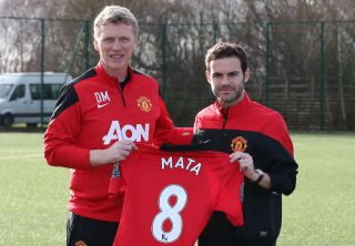 Soccer – Manchester United Press Conference – Juan Mata Unveiling – Aon Training Complex