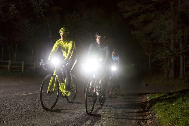 Bicycle Bike Lights 5 LED 2 Piece Kit
