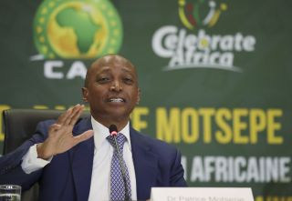 CAF President Patrice Motsepe