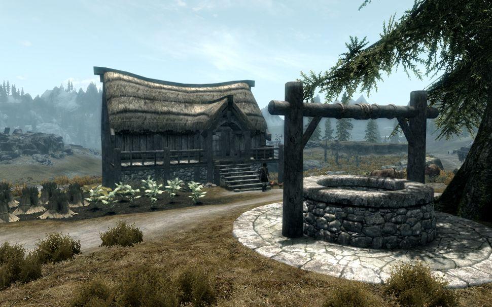 Модификация Skyrim Special Edition - Пол из режущей комнаты