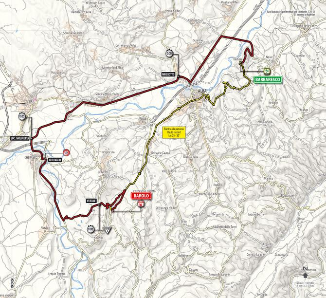 Giro D Italia S Barolo Time Trial To Follow Hillier Course Cyclingnews