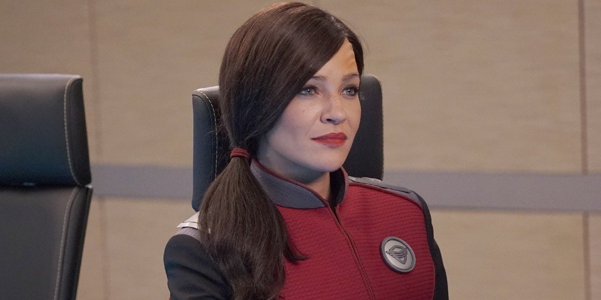 Jessica Szhor as Talla Keyali on The Orville