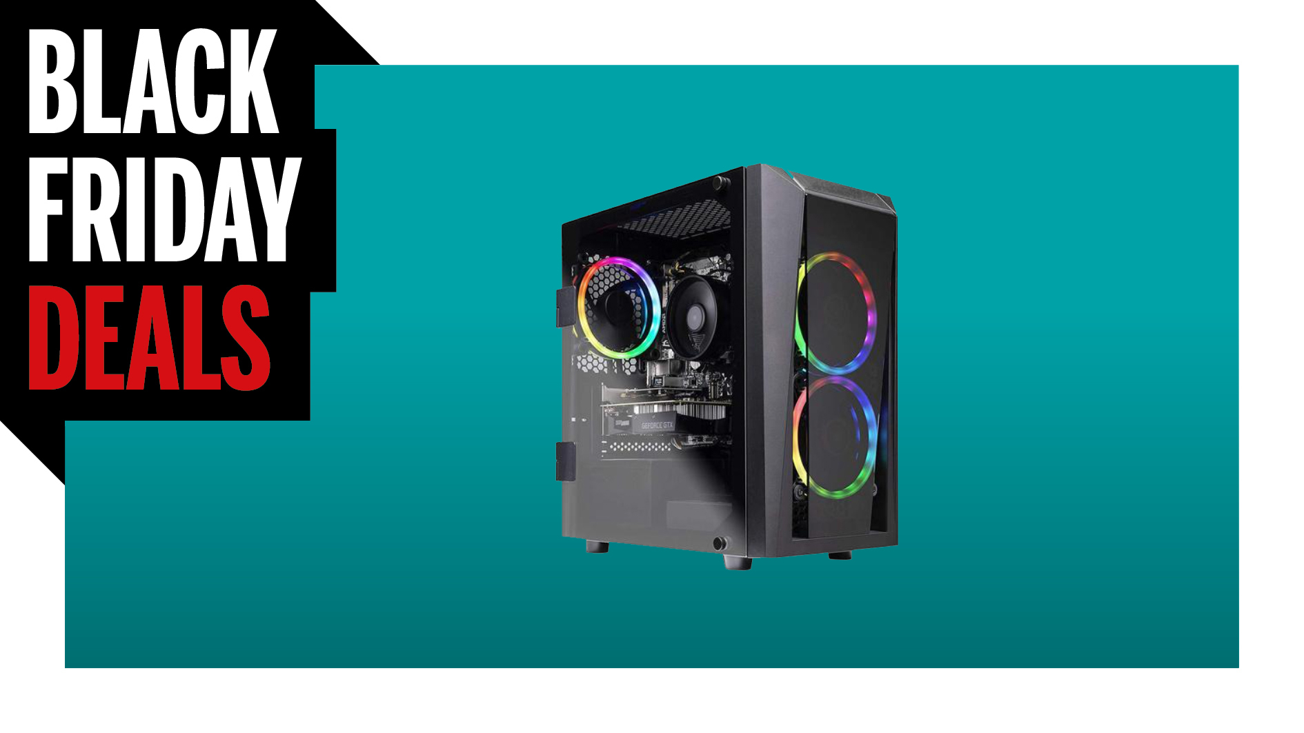 Black Friday Gaming PC Deal: Score this SkyTech gaming PC for only $550