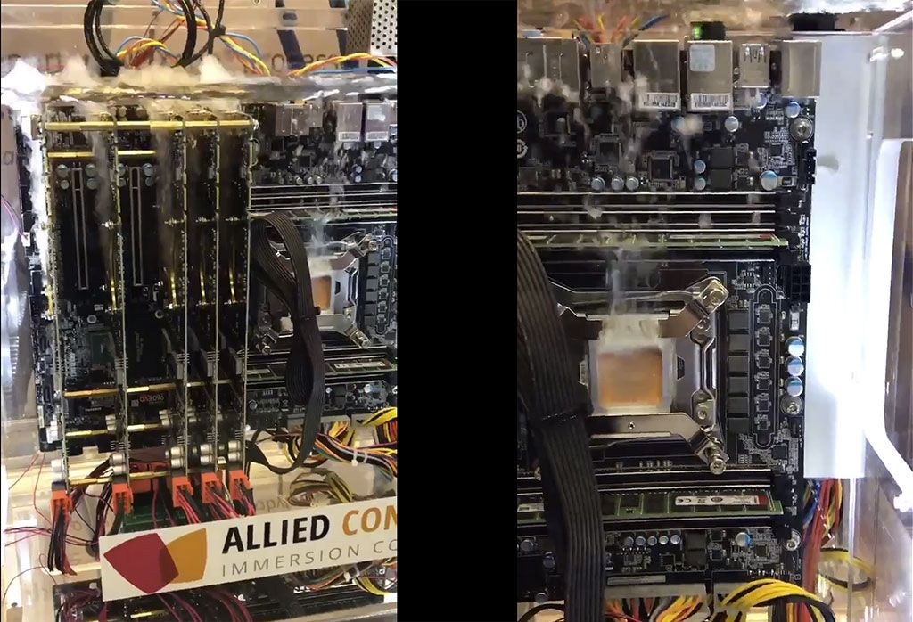 This is what extreme liquid cooling looks like