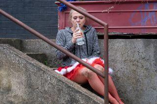EastEnders Linda New Year's Eve drinking