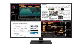 LG's massive 43-inch 4K monitor is like having four HD screens in