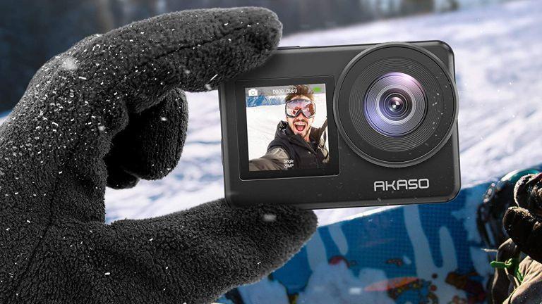 best budget action camera: akaso brave 7
