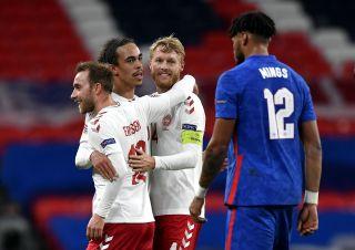 England v Denmark – UEFA Nations League – Group 2 – League A – Wembley Stadium