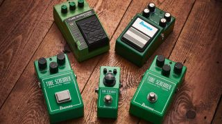 Classic gear: Maxon Overdrive/Ibanez Tube Screamer