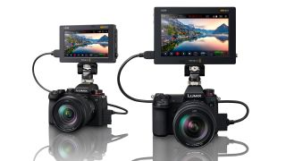 Panasonic Lumix S5 and Lumix S1 with Blackmagic Video Assist 12G HDR