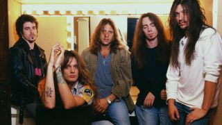 Skid Row with Sebastian Bach in 1995