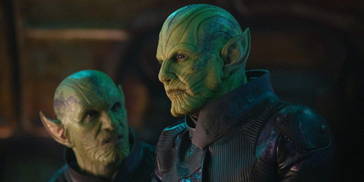 Ben Mendelsohn in Captain Marvel