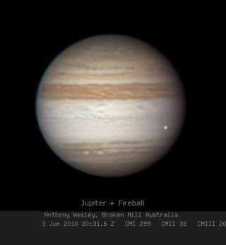 Big Fireball on Jupiter Spotted by Amateur Astronomers