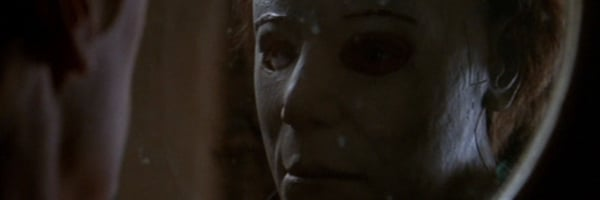 Halloween H20: 20 Years Later Jamie Lee Curtis Laurie sees Michael through the glass