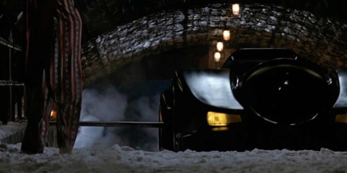 One of the Batmobile's many accessories in Batman Returns