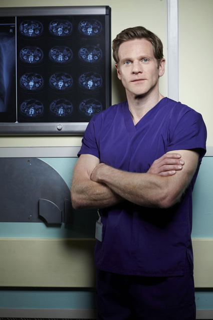 Holby's Adam: Dan's 'confused' not necessarily gay